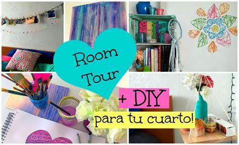 Manualidades para tu Cuarto + ROOM TOUR! ♡ Dani Hoyos Art ...