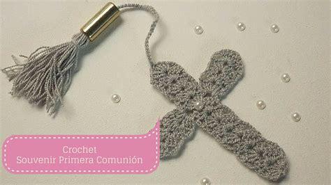 Manualidades: SOUVENIR de Primera Comunión/Crochet DIY ...