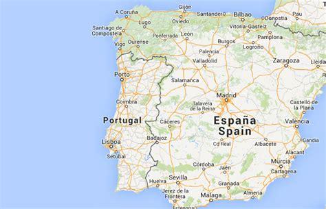 Mapa de Portugal, donde está, queda, país, encuentra ...