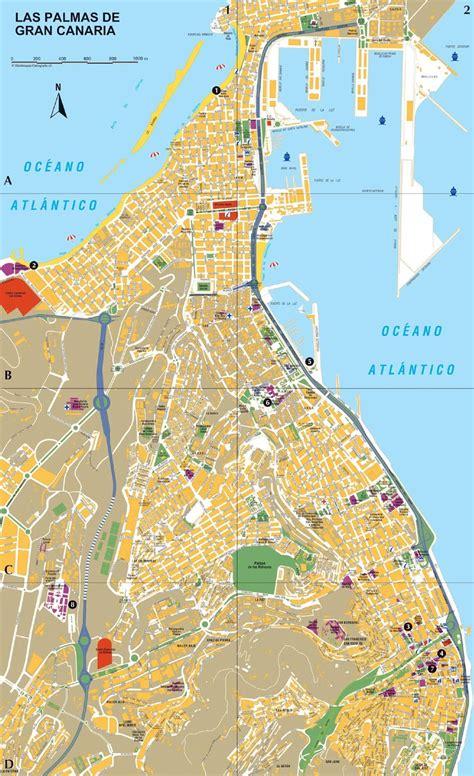 Mapas de Las Palmas de Gran Canaria   Espanha   MapasBlog