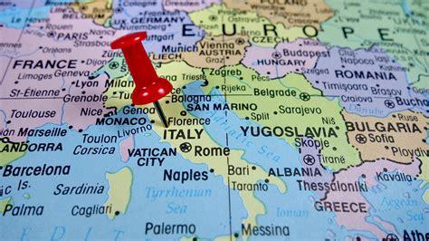 Mapas políticos, físicos y turísticos de Italia