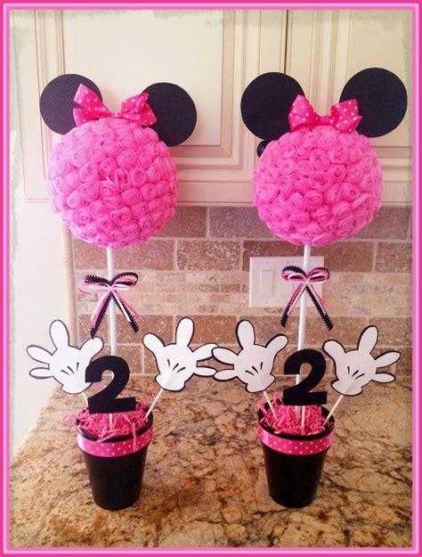 Maravillosos Adornos de Cumpleaños de Minnie Mouse ...
