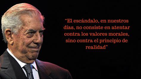 Mario Vargas Llosa 80 años: frases sexo espectáculo amor ...