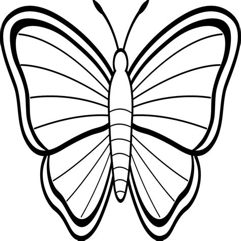 Mariposas Grandes Para Colorear E Imprimir | Colorear.website