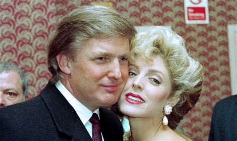 Marla Maples, la ex esposa de Donald Trump, se cambió el ...