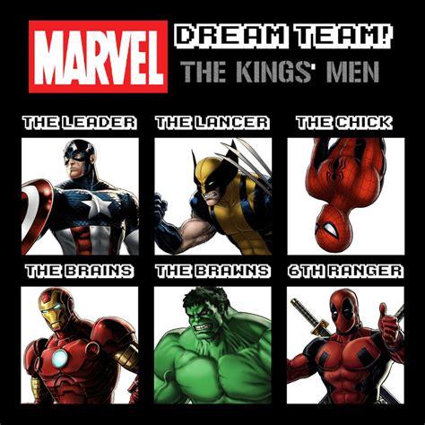 Marvel Dream Team Meme Example by DreamChallenger on ...