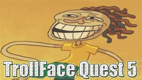 ¿MAS ABSURDO?....IMPOSIBLE !!   Trollface Quest 5   YouTube