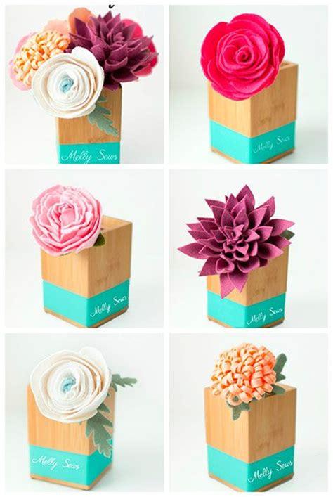 Más de 25 ideas fantásticas sobre Rosas De Fieltro en ...