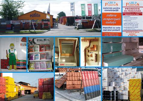 MATERIALE CONSTRUCTII > caramida, tigla, ciment > PEDONIS ...