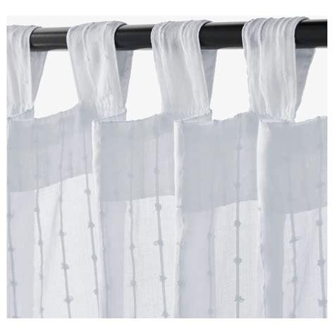MATILDA Sheer curtains, 1 pair White 140x250 cm   IKEA