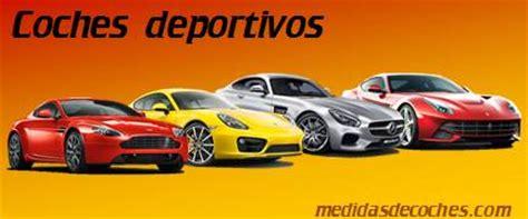 Medidas y dimensiones de coches de todas las marcas