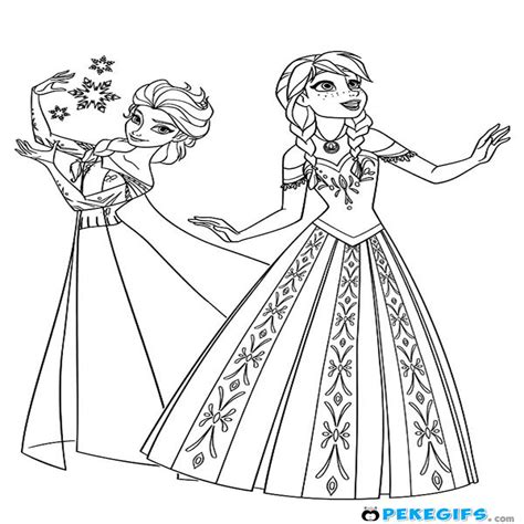Mejor De Dibujos Colorear Frozen