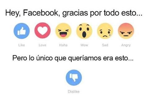 """Mejores memes de los nuevos """"me gusta"""" de Facebook ..."""