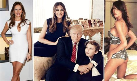 Melania Trump : Donald Trump s wife and former model ...