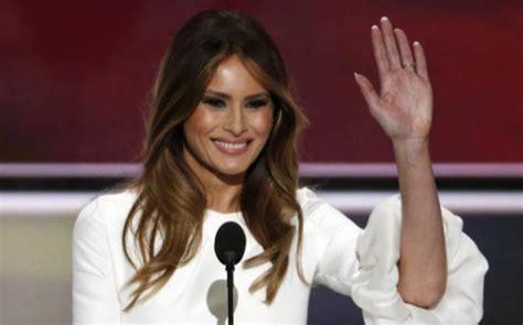 Melania Trump lleva la polémica a la Convención Republicana