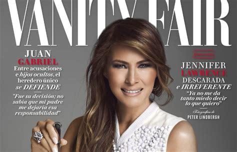 Melania Trump protagoniza la portada de 'Vanity Fair ...