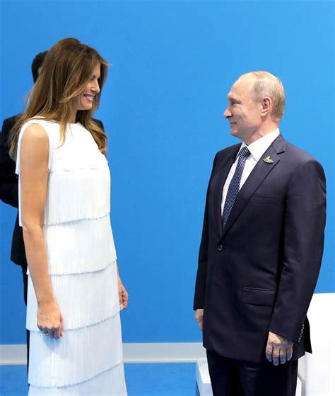 Melania Trump s fashion forward international travel style ...