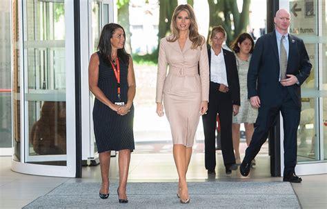Melania Trump y Brigitte Macron, las protagonistas de la ...