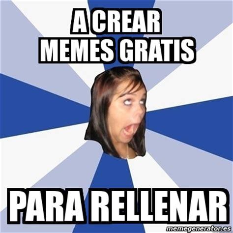 Meme Annoying Facebook Girl   a crear memes gratis para ...