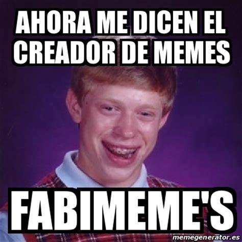 Meme Bad Luck Brian   Ahora me dicen el creador de Memes ...