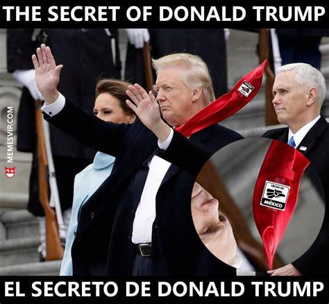 Meme el secreto de Donald Trump   memes en español ...