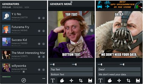 Meme Generator Suite – Today s AdDuplex HERO App | Windows ...