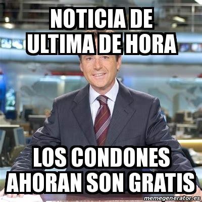Meme Matias Prats   noticia de ultima de hora los condones ...