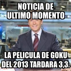 Meme Matias Prats   noticia de ultimo momento la pelicula ...