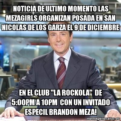 Meme Matias Prats   NOTICIA DE ULTIMO MOMENTO LAS ...