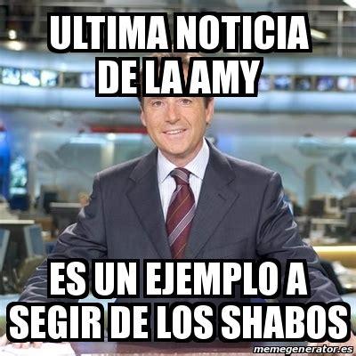 Meme Matias Prats   ultima noticia de la amy es un ejemplo ...