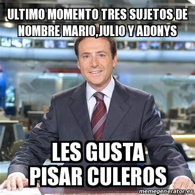 Meme Matias Prats   ultimo momento tres sujetos de nombre ...