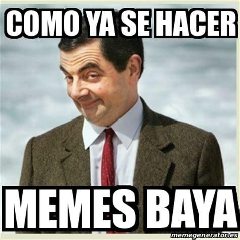 Meme Mr Bean   como ya se hacer memes baya   18371354