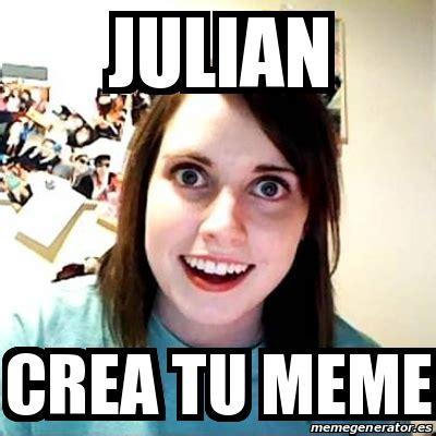Meme Overly Attached Girlfriend   JULIAN CREA TU MEME ...