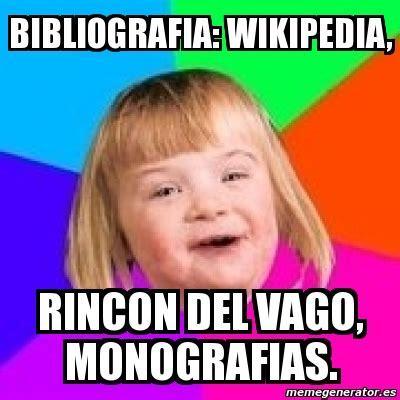 Meme Retard Girl   bibliografia: wikipedia, rincon del ...