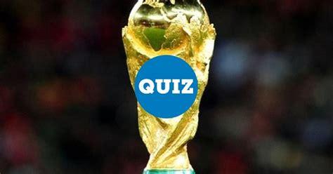 [ MEMEDEPORTES ] ¿Cuánto sabes de la Copa del Mundo? ¡Pon ...