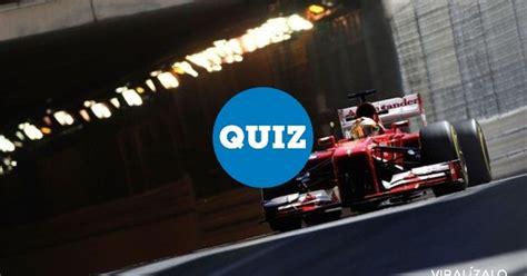 [ MEMEDEPORTES ] QUIZ: ¿Cómo eres de fan de la F1?