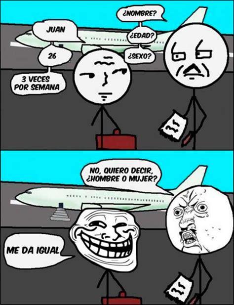 Memes chistosos en español: Troll en el aeropuerto → # ...