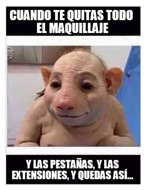 Memes de Maquillaje   Imagenes chistosas