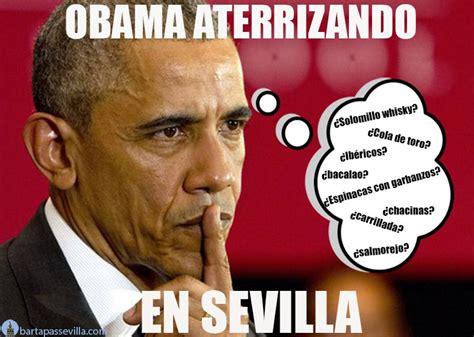 Memes de Obama en Sevilla | Bar Tapas Sevilla