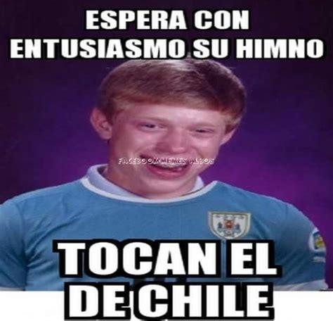 memes del fail de el himno de Chile en partido de Uruguay ...