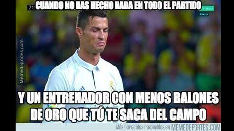 Memes del Real Madrid y Cristiano Ronaldo por el empate 2 ...