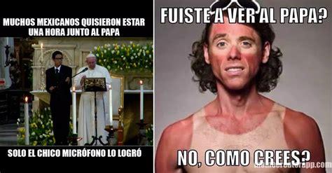 Memes destacados de la visita del Papa a México