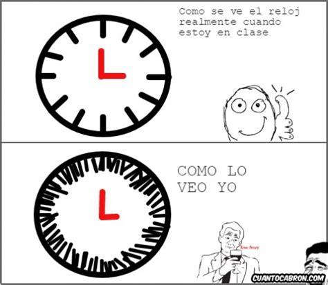 Memes en español imágenes: Cruda realidad con el reloj