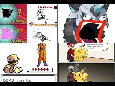 MEMES graciosos de pokemon en español #02   By: ReYreX ...