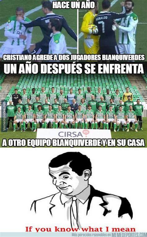 Memes graciosos: Los memes más divertidos del Betis Real ...