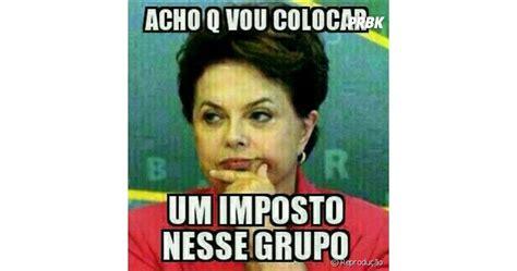 Memes no Whatsapp: nem a presidente Dilma escapou da zoeira...