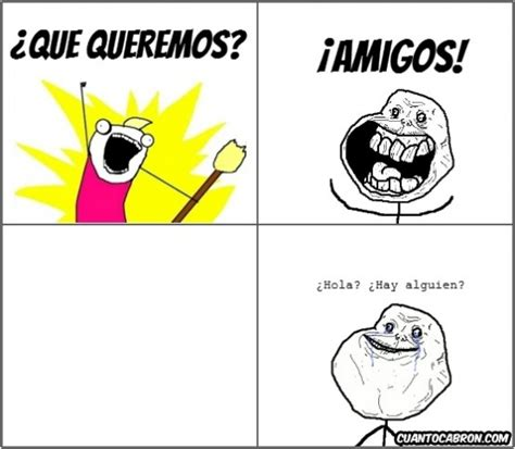 Memes y Chistes de Forever Alone   Imagenes chistosas