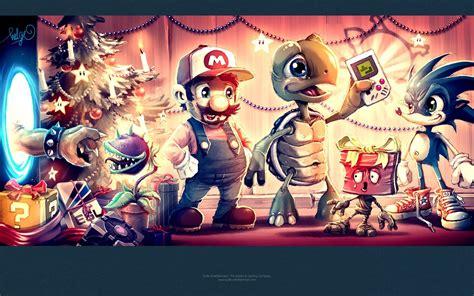 merry christmas wallpapers video game   HD Desktop ...