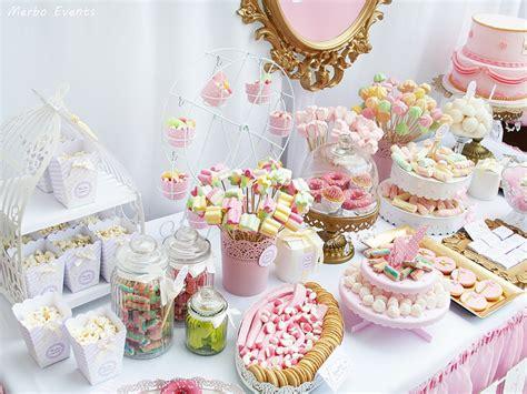 Mesa dulce para el bautizo de Nadia   Merbo Events