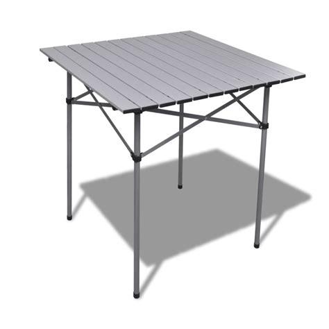 Mesa Plegable De Aluminio De Jardín Campamento 70X70X70cm ...